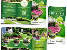 Create a stunning brochure with your content and our graphics / photographs