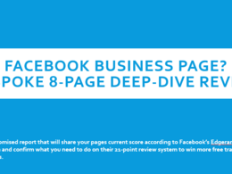 Show you how your Facebook Business page ranks with Facebook
