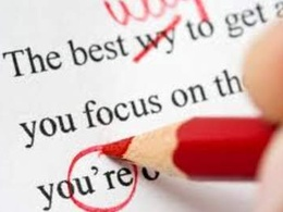 Proofread your resume (no changes to format)
