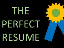 Write and design for you the perfect Resume/CV