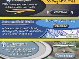 Design a professional website header
