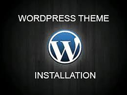 Install any Wordpress theme to your website server