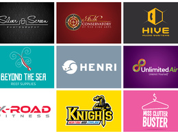 Produce your new professional logo + unlimited revisions