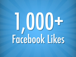 Add 1000+ genuine facebook likes