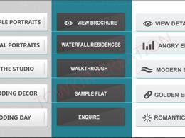 Design your website buttons