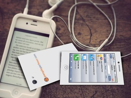Design a beautiful and attractive iPhone business card with unlimited revisions
