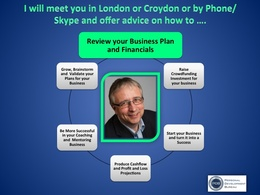 Provide 2 hour meeting on helping you with your business plan and financials