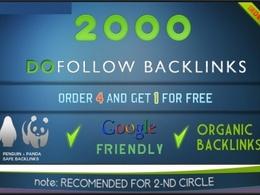Build fast 2000 DoFollow backlinks