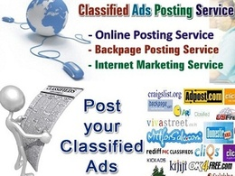 "Create 20 Quality ""Classified Ads"" in your require Country"