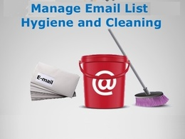 Clean, scrub and validate your email list