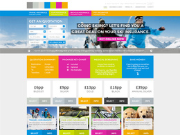 Design an impressive web page in Photoshop ready to be converted to HTML