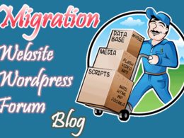 Transfer, move or migrate your website, wordpress, forum to new host or domain
