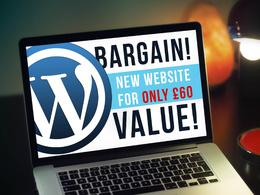Setup a basic WordPress website