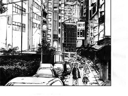 Illustrate a good- looking page for your manga or comic story