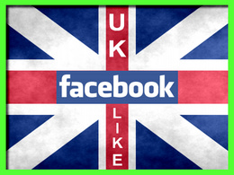 Add 100+ Genuine UK GEO Targeted Facebook Likes to your Fan Page