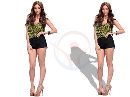 Do drop shadow,natural shadow,reflection and remove background from 100 photos