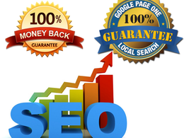 Do 100% white hat off site SEO to rank your website on 1st page of google guaranteed