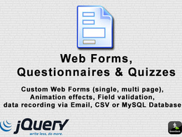 Create you an online questionnaire with email and csv data recording
