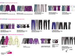 Produce a professional brand/buyer line sheet from