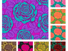Design textile patterns for your collections