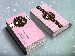 Design a professional, modern double sided business card