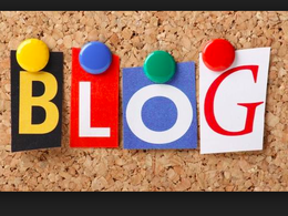 Create a months worth of Blogs :)