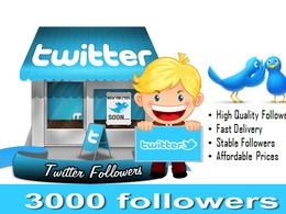 Provide 3000 Verified Twitter Followers to boost  SEO, Social Media, Traffic & Sale