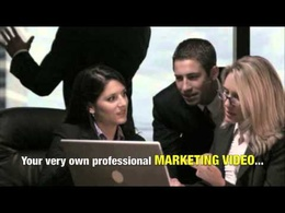 Create a 60 second marketing video composed of royalty-free footage