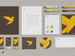 Design a complete corporate branding