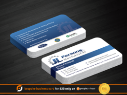 Design your double sided business card