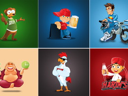 Design amazing vector Mascot or Logo unlimited revision