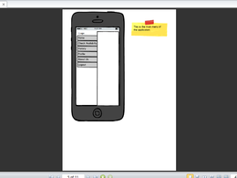 Draw wireframes for mobile apps using online tools like Balasmiq and Mockp builder