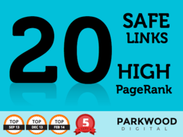 Create 20 longterm safe back links from PR9 trusted sites to boost SEO