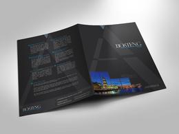 Design an attractive presentation folder