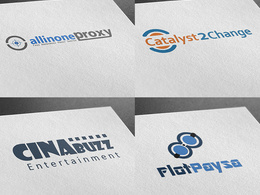 Design you a logo with unlimited revisions + 3 concepts
