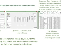 Create an Excel based 'Data Entry' userform to assist in your form completions