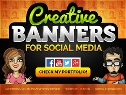 Design BANNER IMAGE COVER for Facebook or Social Media Ads