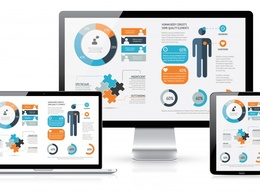Develop a full website with responsive and bootstrap support