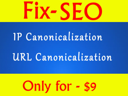 Solve your website IP and URL Canonicalization to prevent duplicate content