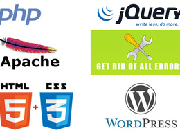 Fix any Wordpress/PHP/JS/CSS/AngularJS errors overnight