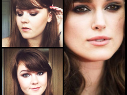 Write a Celebrity inspired make-up tutorial complete with photos