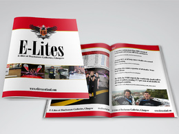 Produce stunning brochure designs (multiple pages)