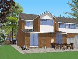 Make a 3D model of your house in SketchUp