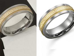 Retouch and Recolor 10 jewelry pictures in Studio Quality