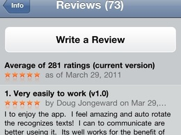 Review a UK Ipad or android appstore app