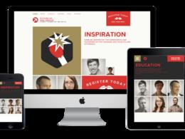 Develop responsive website and logo