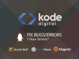 Fix website errors/bugs including html, css, php, Joomla, Wordpress, Magento and DBs