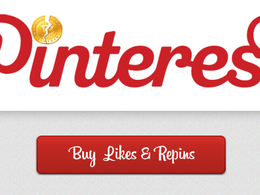 Add 600+ Pinterest Likes or Re-Pins to your profile