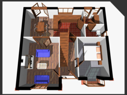 Provide 3D images of a house or proposed extension design