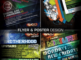 Create an eye-catching poster or flyer